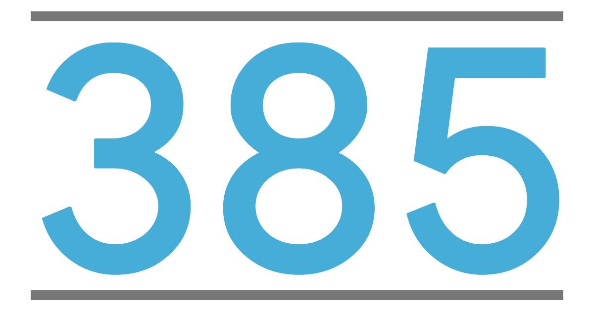 385 UA385 (UAL385)