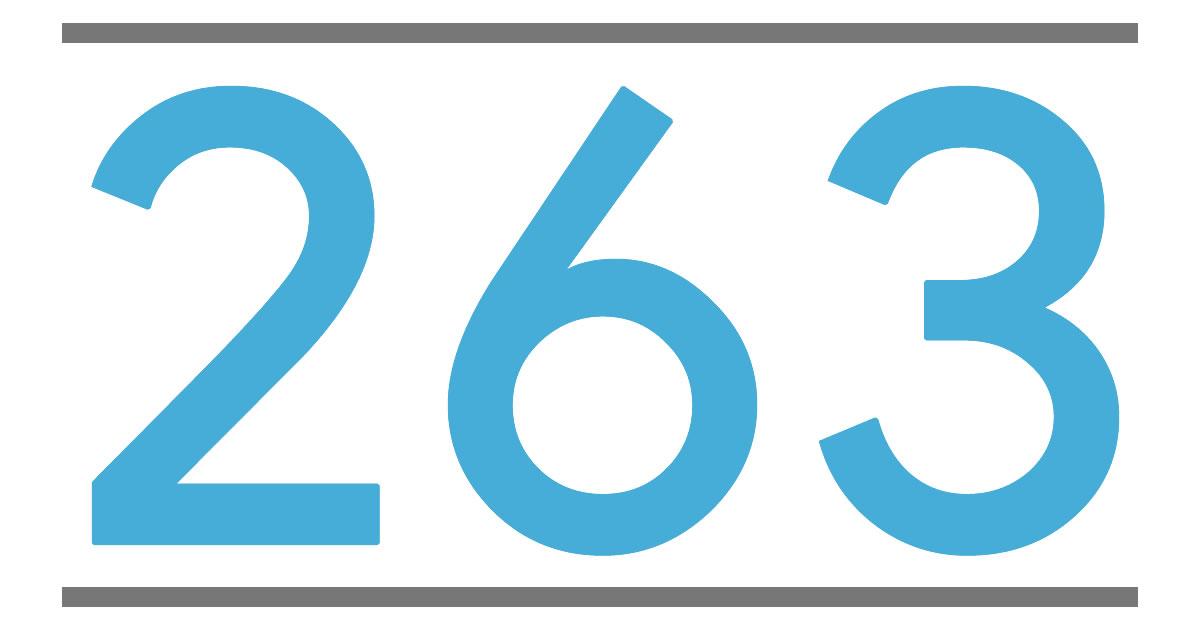 § 263